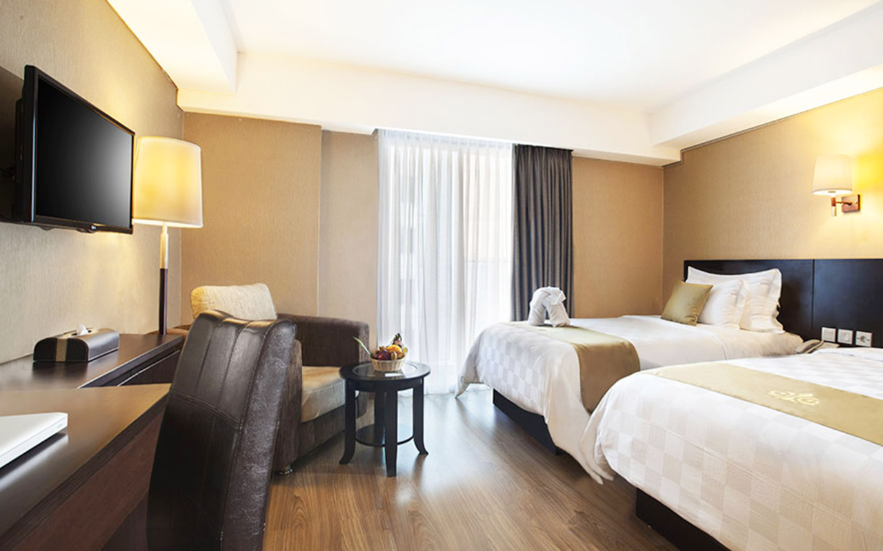 Super Twin Bed Best Western The Hive Cawang